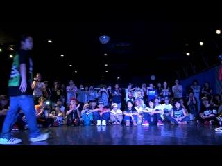 にっしゃん vs RINKA(FAME) DANCE@LIVE 2014 KIDS KANSAI vol.1 【FINAL】
