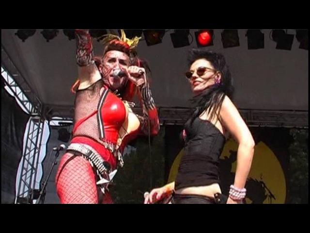 SIGUE SIGUE SPUTNIK ELECTRONIC LIVE 2008 RUHRPOTT RODEO GERMANY
