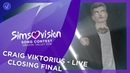 Craig Victorius - Legends Are Made - LIVE - Closing Final - Simsovision 2018
