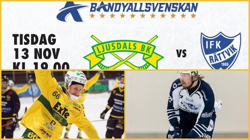 131118Ljusdals BK-IFK Rättvik-HighlightsAllsvenskan-2018-19