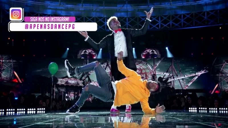INCRIVELMENTE, SINISTRO! - Palhaços arrepiam jurados dançando (World Of Dance NBC) BDash Konkrete