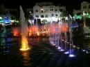 Танцующий фонтан Порт Эль Кантауи Тунис