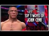 WWE 2K14 - Top 5 Moves Of John Cena! (WWE 2K14 Countdown)