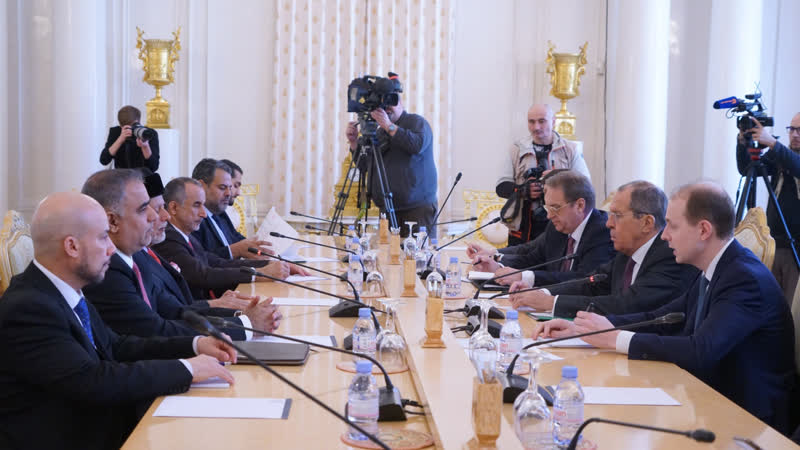 Переговоры С.Лаврова с Министром, ответственным за иностранные дела Султаната Оман, Ю.Бен Аляви