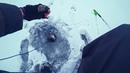 ВЕСЬ УЛОВ ИЗ ДВУХ ЛУНОК Ловля окуня и судака на балансир . Рыбалка зимой на балансиры .