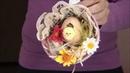 Пасхальный декор для дома 10 минут кустарного ремесла
