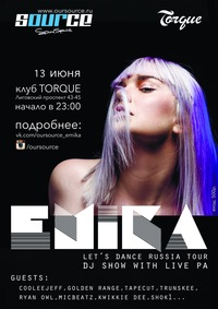 EMIKA (DJ show with live PA) / Torque Club / СПб