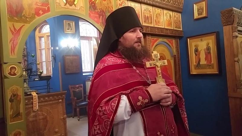 РПАЦ. Слово отца Аркадия о Сильной Вере на примере из Евангелия.