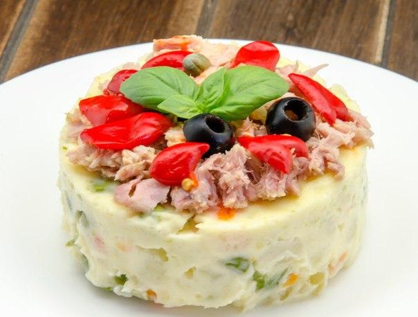 ✨ТОП–5 рецептов салата оливье ✨