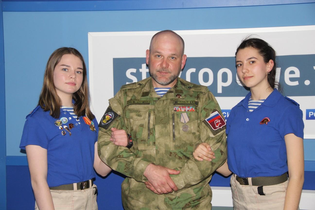 Партизаны на Радио Россия Ставрополья