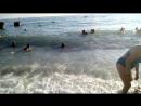 море. солнце. волны