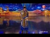 Горловое пение от Тюргена - Україна має талант-6 / В Украине есть таланты - Кастинг в Донецке