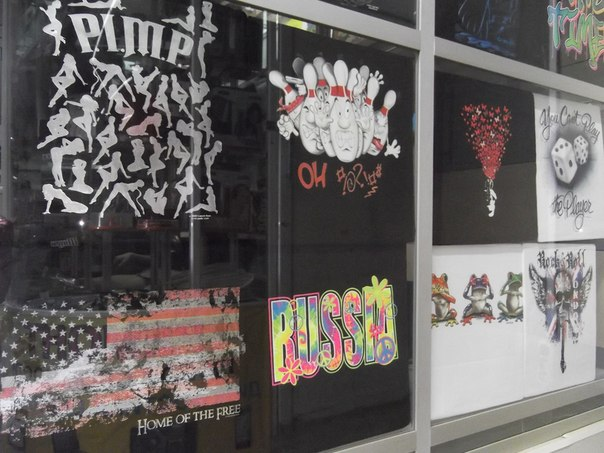 магазины радости печать на футболках