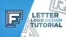 Illustrator: Creating Easy Letter Design Logos