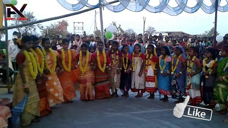 Ajodhya Pahar-Jadugora School Girls Dance 2018||স্কুল মেয়ের নাচ
