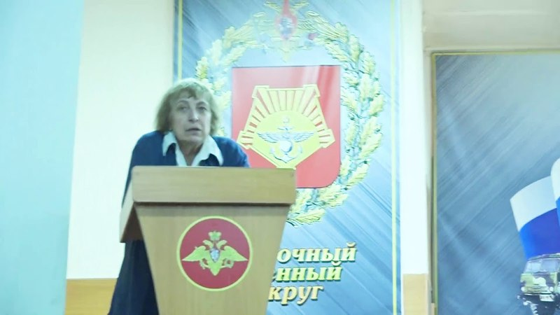 Беседы о семье, почитании старших в Танковой воинской части № 42718 г. Арсеньева