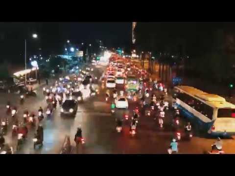 Cận cảnh đêm đô thị Sài Gòn đẹp lắm - Timelapse