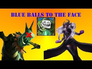 BLUE BALLS TO THE FACE