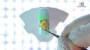 Дизайн ногтей с гель-краской для тонких линий TNL Voile