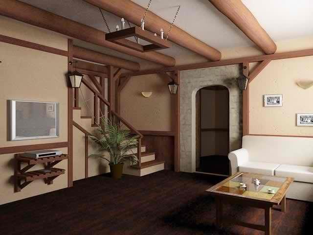 Дизайн интерьера своими руками в частном доме с фото