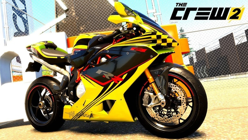 THE CREW 2 GOLD EDiTiON TUNiNG MV AGUSTA F4 RR PART 193
