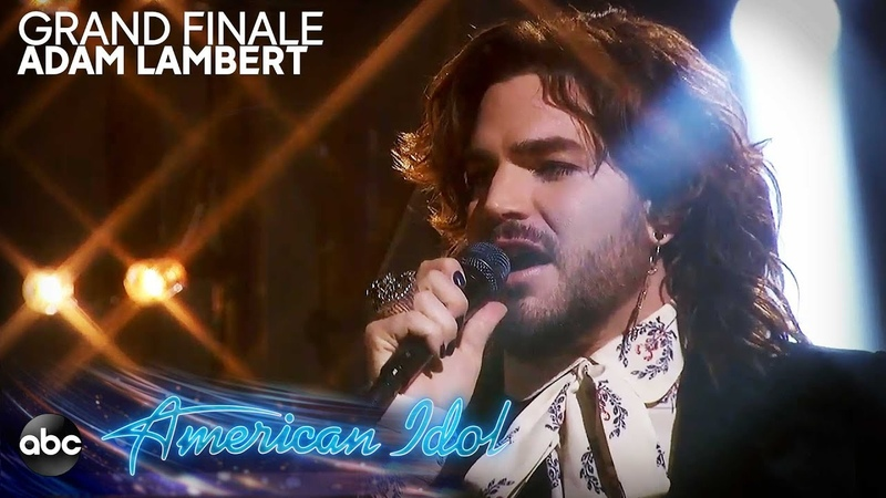 Adam Lambert Performs New Eyes - American Idol 2019 Finale