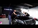 Mercedes S400 AMG на нанесении защитного покрытия Ceramic Pro 9H.