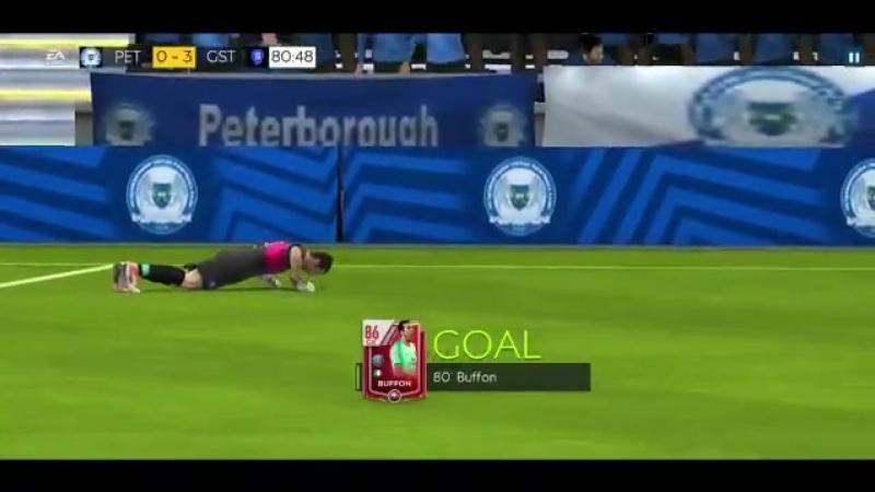 Гол Буффона в FIFA Mobile 19