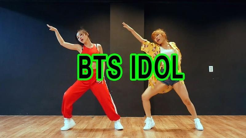 BTS (방탄소년단) IDOL WAVEYA IDOLCHALLENGE