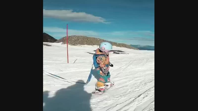 Как научить кататься на скейте малого