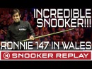 Ronnie O'Sullivan INCREDIBLE TOURNAMENT WINNING 147 maximum...LEFT HANDED!!