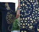 Как Перекрасить Джинсовую Куртку
