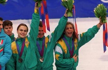 Бронзовые медали в 1994 году