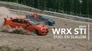 WRX STI de Subaru – Duel en slalom