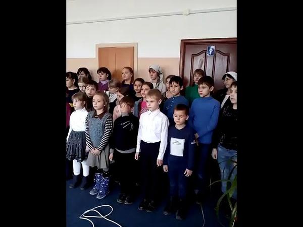 Рождественский концерт в доме престарелых. ч.2