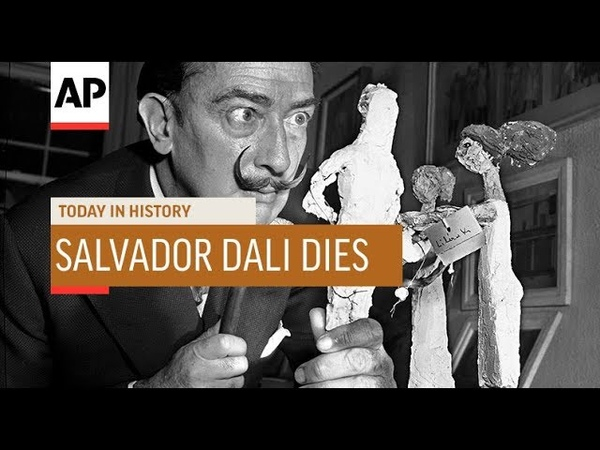Salvador Dali Dies - 1989 | Today In History | 23 Jan 19