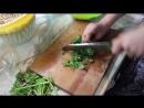 🍚 Рецепт Табуле из зеленой гречки ¦ творим с сетрой