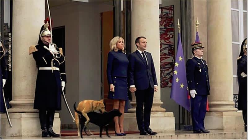 Le Major Patrick Nicolle s adresse a Macron