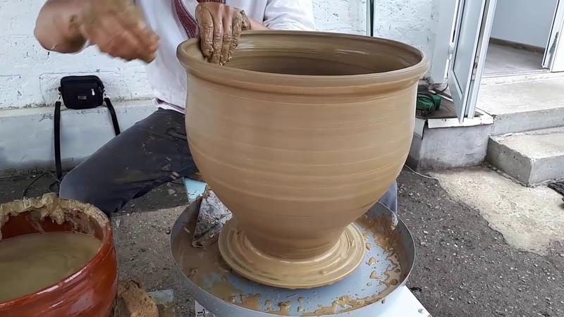 Тест гончарного круга - Rtproekt. Глина 8 кг. Potter's wheel
