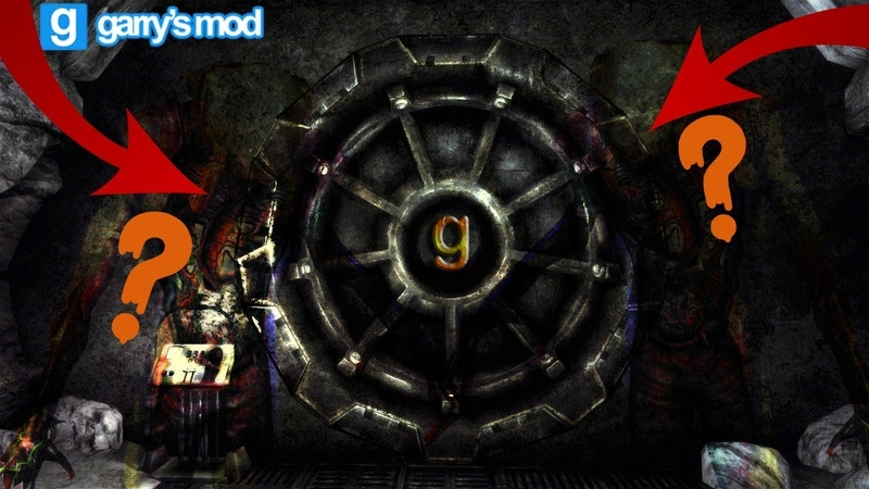 ЧТО НАХОДИТСЯ ЗА ЭТОЙ ПРОКЛЯТОЙ ДВЕРЬЮ?! | Gmod horror map