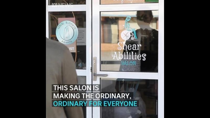 👱👩 Специальный салон-парикмахерская ✂ для людей с ОВЗ в Австралии 🔆