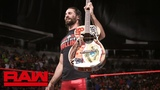 Seth Rollins destroys Elias' prized guitar Raw, June 11, 2018