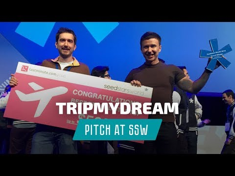 Winning pitch Андрея Буренок на Seedstars Summit 2016. Победа TripMyDream - «лучший тревел-стартап»