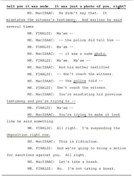 Показания Йоши Уейли, сына Джоли Левин (секретарь MJ)., изображение №37