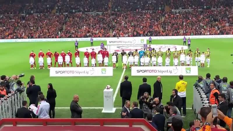 Galatasaray Fenerbahçeyi Şampiyonlar Ligi Müziği İle Arenaya Çıkarıyor