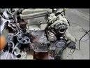 Большой расход масла снимаю двигатель 2часть Toyota Caldina 2003 Тойота Калдина 2,0