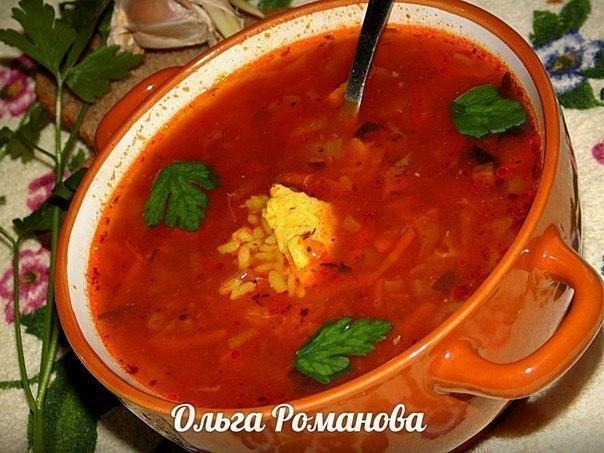 Подборка первых блюд от Ольги Романовой. 1. Ароматный