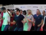Меренге-анимация с Чино на 10-летие Salsa Cubana!