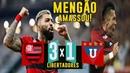 FLAMENGO 3 x 1 LDU Narração Luís Roberto Globo LIBERTADORES 13 03 2019