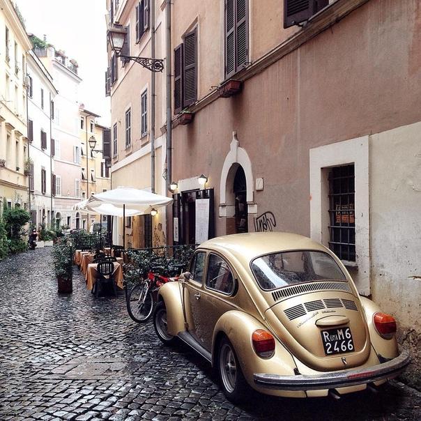 Прямые рейсы в Рим за 14100 рублей туда-обратно